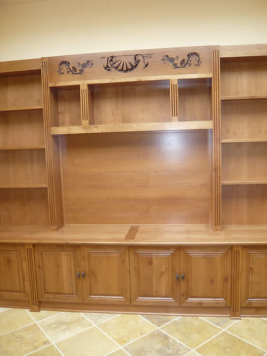 Wall Unit Carving